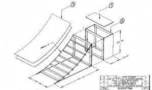 Skateboard Ramp Blueprint