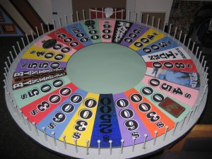 The Wheel of Fortune wheel